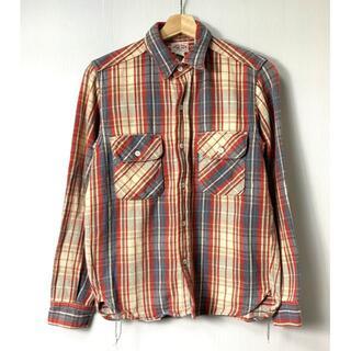 ザリアルマッコイズ(THE REAL McCOY'S)の【H】933 ジョーマッコイ マッコイズ チェック フランネルシャツ 長袖 15(シャツ)