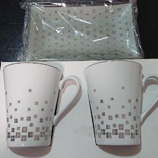 ジバンシィ(GIVENCHY)のジバンシー GIVENCHY トレー付き マグカップ セット コーヒーカップ(食器)