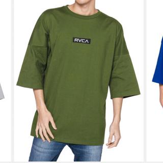 RVCA - RVCA メンズ OVER SIZED BOX RVCA Tシャツ