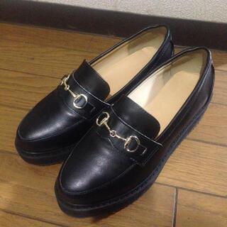 ランダ(RANDA)の厚底ビットローファー(ローファー/革靴)