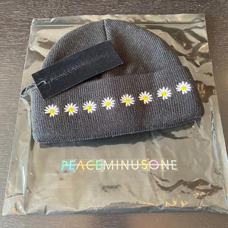 ピースマイナスワン(PEACEMINUSONE)のPMO KNIT CAP #3 BLACK Peaceminusone(ニット帽/ビーニー)