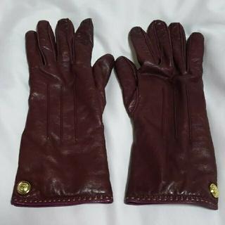 コーチ(COACH)のCOACH coach コーチ レザー手袋(手袋)