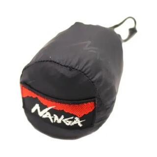 ナンガ(NANGA)の新作 ナンガ ポケッタブル エコバッグ ブラック エンボス 黒 NANGA(エコバッグ)