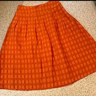 シビラ(Sybilla)のシビラ ドット 膝丈スカート ☺︎ホコモモラ お好きな方にオススメ(ひざ丈スカート)