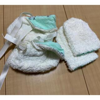 新生児 ミトン靴下セット(靴下/タイツ)