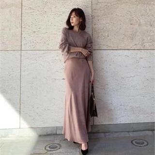 ノーブル(Noble)のカシェック サテン マーメイドスカート Sサイズ(ロングスカート)