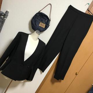 ガール(GIRL)のGIRL☆卒業入学式フリル切替ハイウエストスーツ(スーツ)