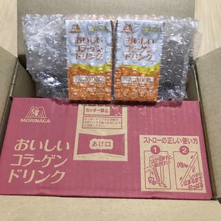 モリナガセイカ(森永製菓)の【新品未開封】森永製菓 おいしいコラーゲンドリンク(コラーゲン)