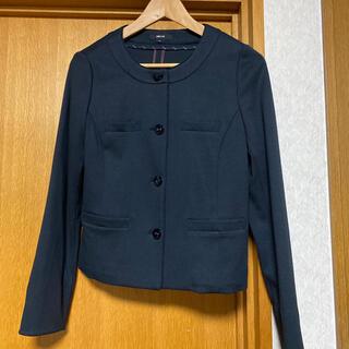 コムサイズム(COMME CA ISM)のコムサイズム 柔らかい着心地の良いジャケット(ノーカラージャケット)