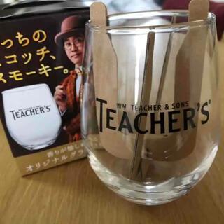 トウヨウササキガラス(東洋佐々木ガラス)の新品未使用 TEACHER'S オリジナルグラス 日本製 ロックグラス(アルコールグッズ)