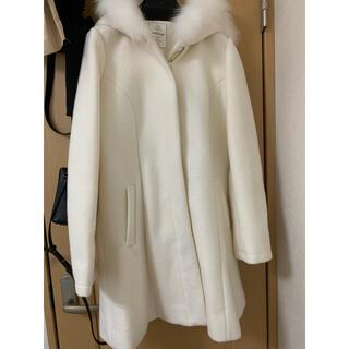 アンクルージュ(Ank Rouge)のAnk Rouge 白 コート (毛皮/ファーコート)