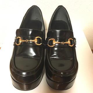 ウィゴー(WEGO)の厚底 ローファー(ローファー/革靴)
