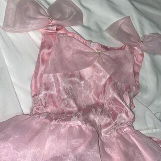 バーバリー(BURBERRY)のドレス ピンク 子供服 キッズ 女児(ドレス/フォーマル)