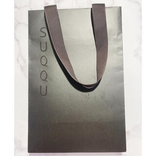 スック(SUQQU)のSUQQU ショッパー/ショップ袋(ショップ袋)
