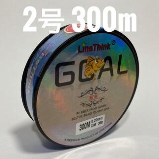 PEライン 2号 300m ブルー(釣り糸/ライン)