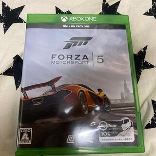 マイクロソフト(Microsoft)のXbox One Forza Motorsport 5 XBO(家庭用ゲームソフト)
