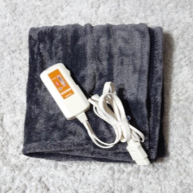 山善(ヤマゼン)の電気ひざ掛け YHK-44MF  スマホ/家電/カメラの冷暖房/空調(電気毛布)の商品写真
