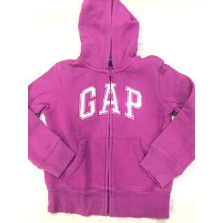 ギャップキッズ(GAP Kids)のGAP♡パーカー(ファスナー付き)(ニット)