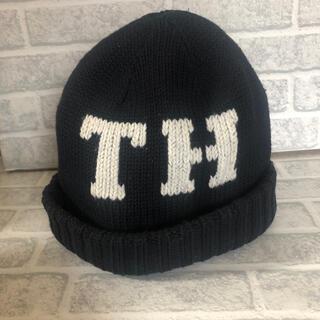トミーヒルフィガー(TOMMY HILFIGER)の美品 TOMMY HILFIGER  ニットキャップ サイズS/M(帽子)