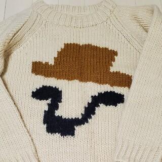 プープレ(peu pres)のプープレ手編みセーター(ニット/セーター)
