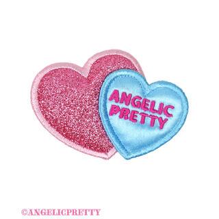 アンジェリックプリティー(Angelic Pretty)のTwin Heartクリップ(バレッタ/ヘアクリップ)