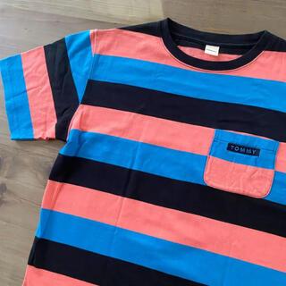 トミー(TOMMY)の美品 TOMMY トミー Tシャツ ボーダー(Tシャツ(半袖/袖なし))