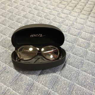 マウジー(moussy)の美品 moussy だて眼鏡(サングラス/メガネ)