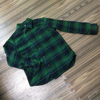 ユニクロ☆キッズブラウスシャツ130