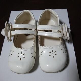 キャサリンコテージ(Catherine Cottage)のキャサリンコテージ 白 ホワイト 17センチ 花 フォーマル 結婚式 発表会 (フォーマルシューズ)