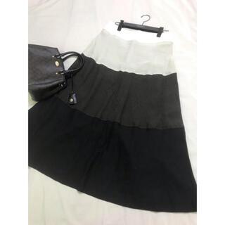 マックスマーラ(Max Mara)の美品 マックスマーラ ロング スカート  マキシ  白タグ リネン(ロングスカート)