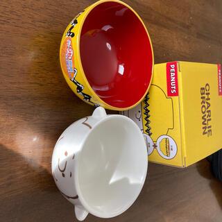 ピーナッツ(PEANUTS)のPEANUTS 茶碗&汁椀セット(食器)