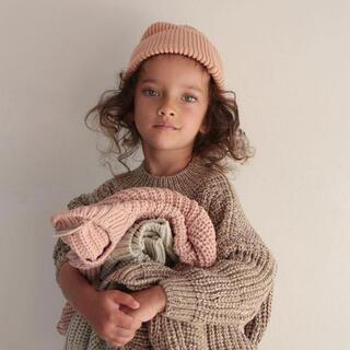 キャラメルベビー&チャイルド(Caramel baby&child )の◯新品未使用◯Smmer and storm chunky knit(ニット/セーター)