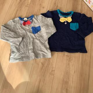 キムラタン(キムラタン)のラキエーベ ロンTセット 95サイズ(Tシャツ/カットソー)