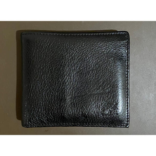 イルビゾンテ(IL BISONTE)のイルビゾンテ 折り財布 二つ折り財布 ブラック(折り財布)