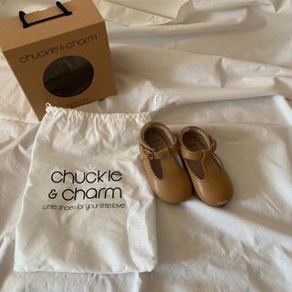 キャラメルベビー&チャイルド(Caramel baby&child )の⋈ chuckle&charm T-bar  サイズ5 13cm ⋈(フラットシューズ)