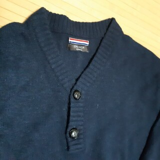 オリヒカ(ORIHICA)の変形Vネックセーター ORIHICA(ニット/セーター)