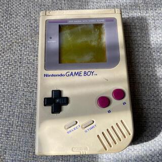 ゲームボーイ(ゲームボーイ)の初代ゲームボーイ 本体 最終SALE(携帯用ゲーム機本体)