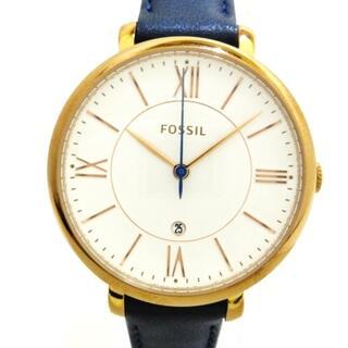 フォッシル(FOSSIL)のフォッシル 腕時計美品  ES3843 レディース(腕時計)