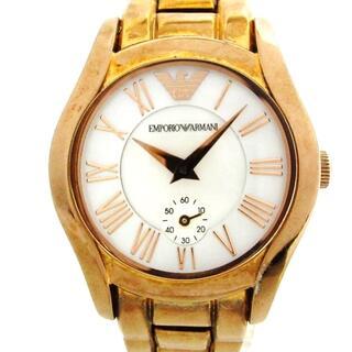 エンポリオアルマーニ(Emporio Armani)のアルマーニ 腕時計 - AR-0699 レディース(腕時計)