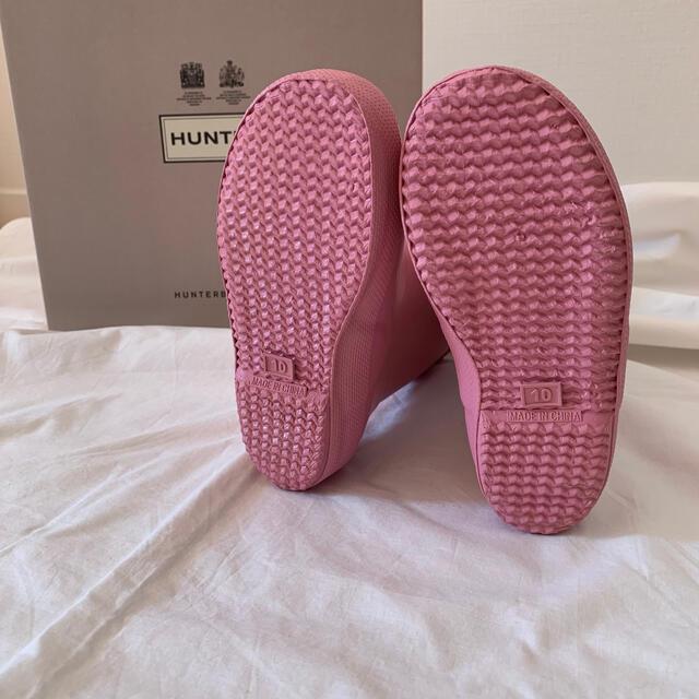 HUNTER(ハンター)の⋈ HUNTER キッズファーストクラシック サイズ10 16cm ⋈ キッズ/ベビー/マタニティのキッズ靴/シューズ(15cm~)(長靴/レインシューズ)の商品写真