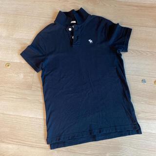 アバクロンビーアンドフィッチ(Abercrombie&Fitch)のアバクロ ポロシャツ ネイビー(ポロシャツ)