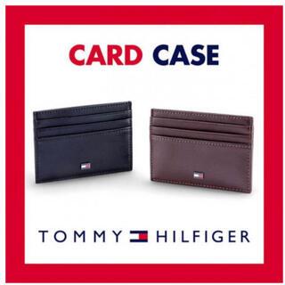 トミーヒルフィガー(TOMMY HILFIGER)のトミーヒルフィガー パスケース ブラウン(名刺入れ/定期入れ)