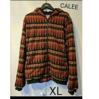 キャリー(CALEE)のCALEE キャリー パーカー アウター フリース XL(パーカー)