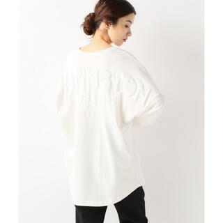 フレームワーク(FRAMeWORK)のFRAMeWORK バックプリントロングTシャツ ホワイト☆(Tシャツ(長袖/七分))