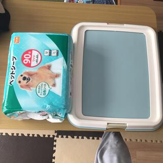 アイリスオーヤマ(アイリスオーヤマ)のペットトイレ ペットトレー アイリスオーヤマ ワイド ペットシーツ(犬)