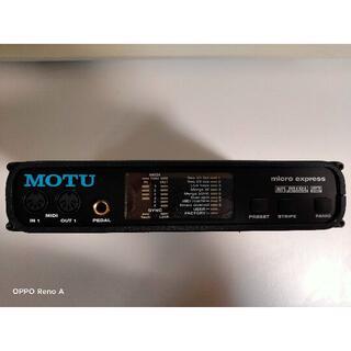 再値下げ MOTU micro express(4x6 USB MIDI IF)(MIDIコントローラー)