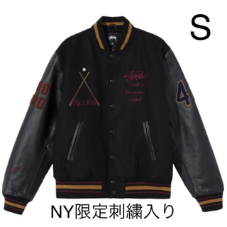 STUSSY - Stussy Varsity Jacket 40周年 ニューヨーク限定