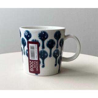 アラビア(ARABIA)の未使用品 ビサンティ ブルー マグカップ マグ アラビア ヘイニ 1(グラス/カップ)