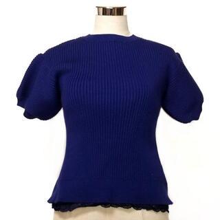 サカイラック(sacai luck)のサカイラック 半袖セーター サイズ1 S(ニット/セーター)