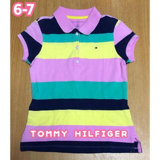トミーヒルフィガー(TOMMY HILFIGER)のTOMMY HILFIGER 女の子 6-7 ポロシャツ(Tシャツ/カットソー)